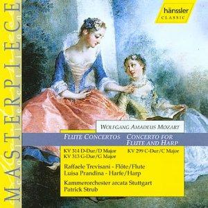 Wolfgang Amadeus Mozart Flötenkonzerte KV 299, 313, 314